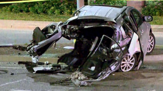 Man handed nine-year sentence in series of GTA crashes that