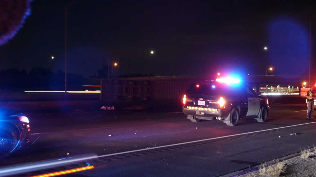 Two people killed after multi-vehicle collision on Highway 401 in