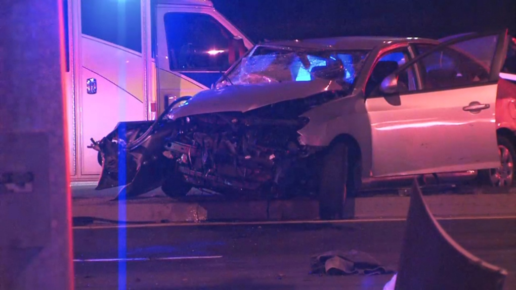 Five people injured in Highway 7 collision in Vaughan | CP24 com