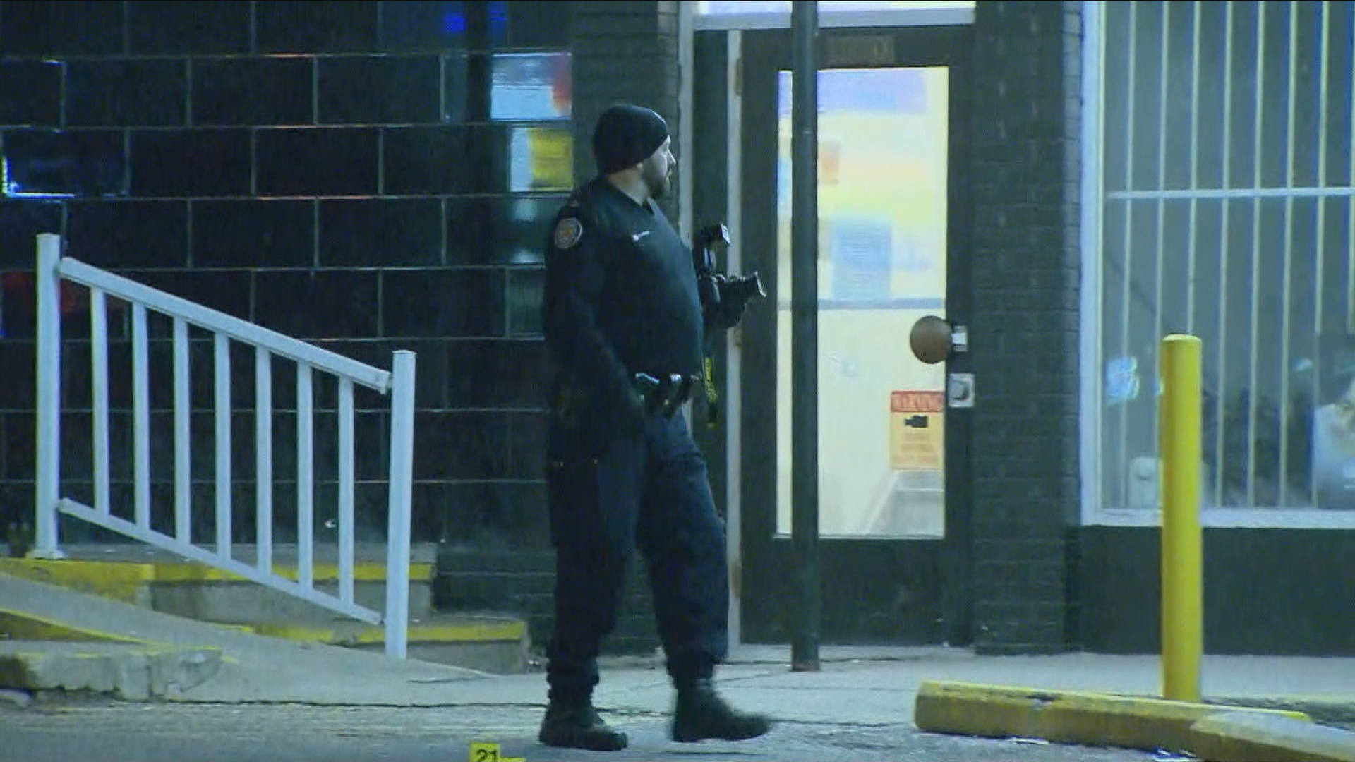 Man seriously injured after multiple shots fired at Woburn plaza