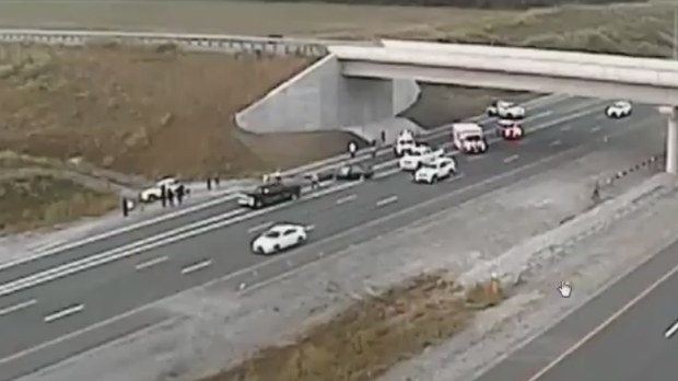 Man dead, 4 others injured in crash on WB 407 in Durham: OPP