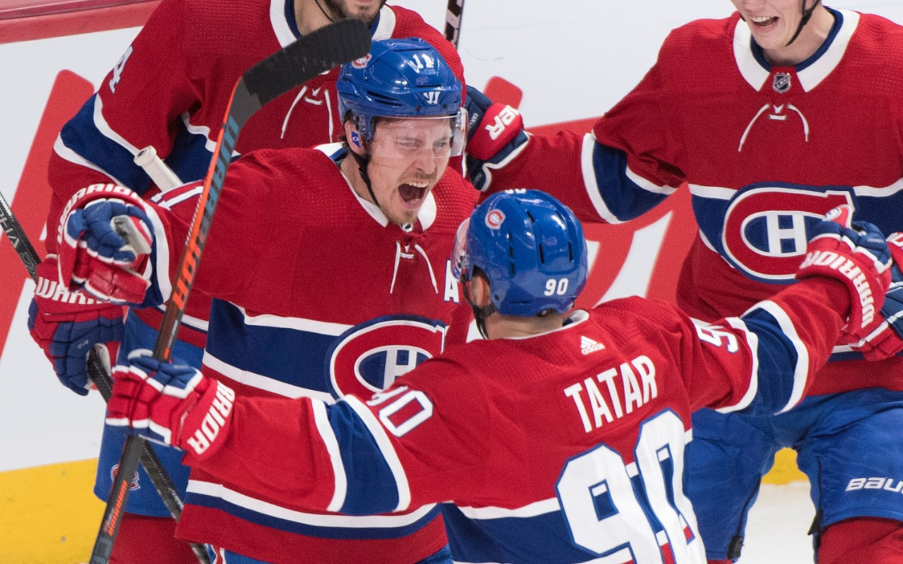 Jonathan Drouin Scores Twice To Lead Canadiens Over Leafs 5 2 Cp24 Com