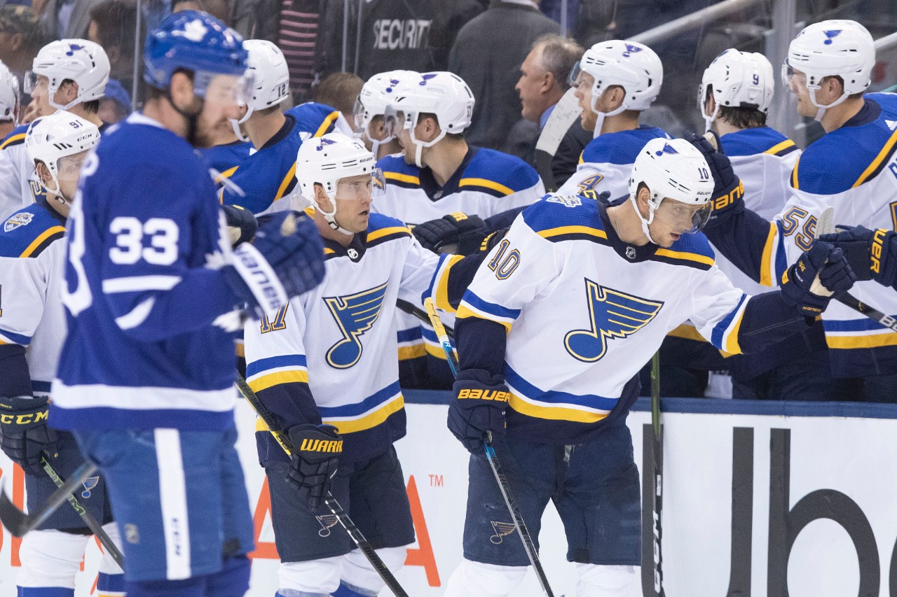 Alex Pietrangelo Has Winner As Blues Hold Off Maple Leafs For 3 2 Win Cp24 Com